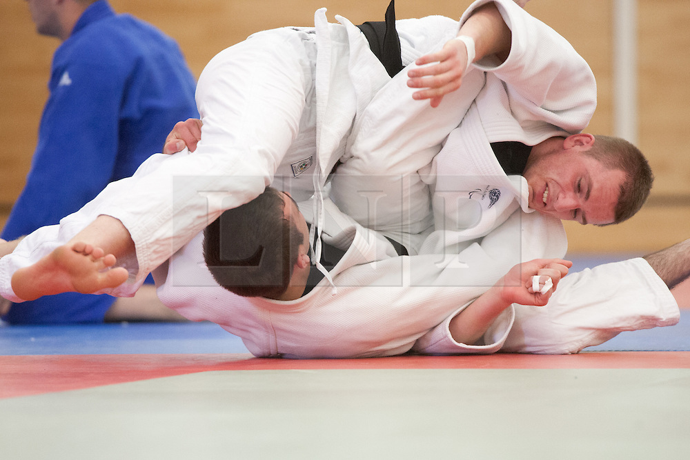 © London News Pictures. 23/08/2012. Dartford, Kent. Judo Paralympian Marc Powell in training. Britain's leading judokas from ParalympicsGB in training at their national base in Dartford, Kent. before competing in London 2012. Picture credit should read Manu Palomeque/LNP