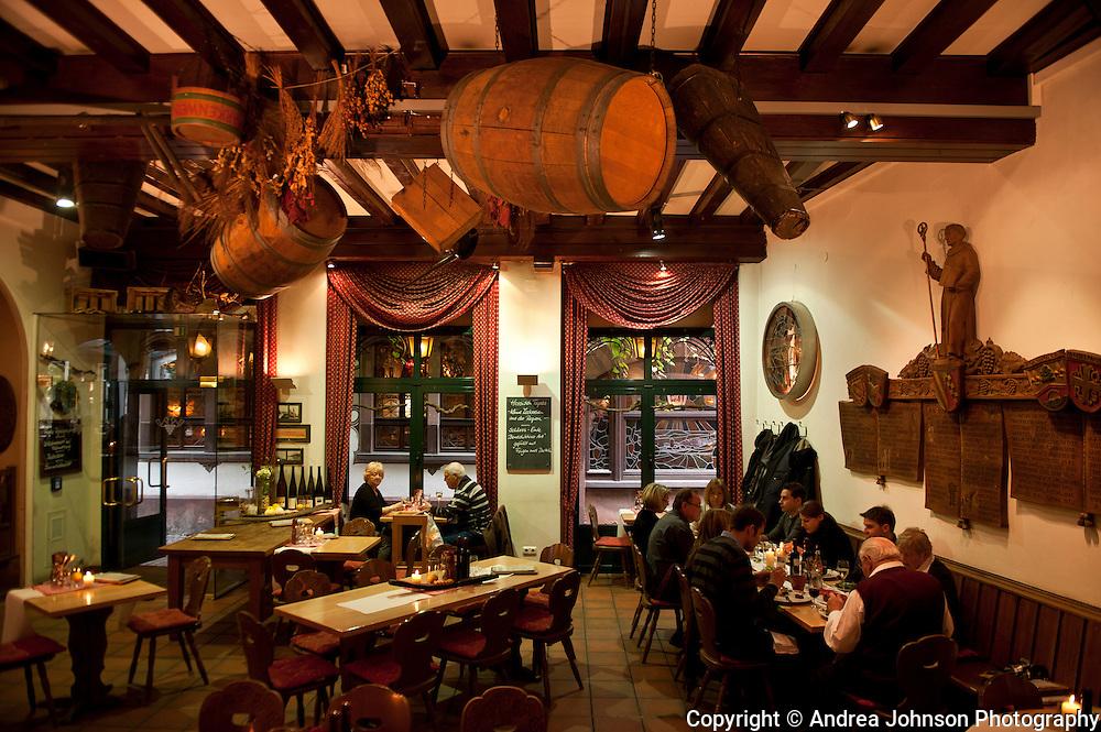 Breur's Rudesheimer Schloss restaurant, Rheingau, Germany