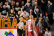 DESCRIZIONE : Roma Lega A 2014-15 <br /> Acea Virtus Roma - Giorgio Tesi Group Pistoia<br /> GIOCATORE : <br /> CATEGORIA : tifosi mani  arbitro <br /> SQUADRA : Acea Virtus Roma<br /> EVENTO : Campionato Lega A 2014-2015 <br /> GARA : Acea Virtus Roma - Giorgio Tesi Group Pistoia<br /> DATA : 22/03/2015<br /> SPORT : Pallacanestro <br /> AUTORE : Agenzia Ciamillo-Castoria/N. Dalla Mura<br /> Galleria : Lega Basket A 2014-2015  <br /> Fotonotizia : Roma Lega A 2014-15 Acea Virtus Roma - Giorgio Tesi Group Pistoia