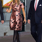 NLD/Amsterdam/20150926 - Afsluiting viering 200 jaar Koninkrijk der Nederlanden, aankomst Maxima en Willem-Alexander
