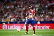 Diego Costa of Atletico de Madrid lamenting during the spanish league, La Liga, football match between Atletico de Madrid and Rayo Vallecano on August 25, 2018 at Wanda Metropolitano stadium in Madrid, Spain, Photo Oscar Barroso / SpainProSportsImages / DPPI / ProSportsImages / DPPI