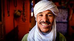 Portrait of a shopkeeper, southern Moroco<br /> <br /> (c) Andrew Wilson | Edinburgh Elite media
