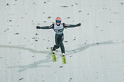 09.03.2020, Lysgards Schanze, Lillehammer, NOR, FIS Weltcup Skisprung, Raw Air, Lillehammer, Herren, Qualifikation, im Bild Pius Paschke (GER) // Pius Paschke of Germany during men's qualification jump of the 2nd Stage of the Raw Air Series of FIS Ski Jumping World Cup at the Lysgards Schanze in Lillehammer, Norway on 2020/03/09. EXPA Pictures © 2020, PhotoCredit: EXPA/ JFK