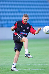 OSLO, NORWAY - Monday, September 3, 2001: Wales' Craig Bellamy during training at the Ullevaal Stadion in Oslo ahead of his side's FIFA World Cup 2002 Qualifying Group 5 match against Norway. (Pic by David Rawcliffe/Propaganda)