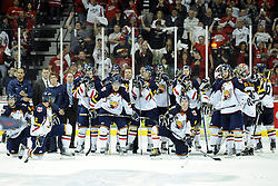 The Windsor Spitfires won the Robertson Cup as the 2010 Ontario Hockey League champions on Tuesday at the WFCU Centre in Windsor. Photo by Aaron Bell/OHL Images