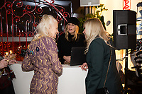Alexandra Richards with Vivienne Westwood and Jo Wood - SUSHISAMBA hosted a glittering party at their vibrant restaurant to celebrate the 10th birthday of Cool Earth, their charity partner that works to halt rainforest destruction. Celebrity guests included Dame Vivienne Westwood, Daisy Lowe, Leah Wood, Alexandra Richards, Julien Macdonald, Jasmine Hemsley, Jack Guinness and Savannah Miller. Guests ate a special menu devised by SUSHISAMBA's Chef Director Claudio Cardoso using ingredients sourced directly from the rainforest in select dishes including Seasonal Vegetable Tempura, El Topo and Welcome to the Rainforest dessert and drank Yuzu Gin Fizz and a special Ashaninka Forest Cocktail at the star studded party. Celebrity guests joined SUSHISAMBA CEO Shimon Bokovza and Cool Earth's Director Matthew Owen.
