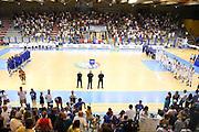 LIGNANO SABBIADORO, 11 LUGLIO 2015<br /> BASKET, EUROPEO MASCHILE UNDER 20<br /> ITALIA-FRANCIA<br /> NELLA FOTO: panoramica<br /> FOTO FIBA EUROPE/CASTORIA