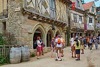 France, Vendée (85), Les Epesses, Parc du Puy du Fou, le village médieval // France, Vendée, Les Epesses, Parc du Puy du Fou