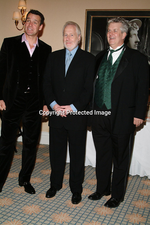 David James Elliott, Garry Hart &amp; Lenny Clarke<br />Jewish Television Network&rsquo;s 2003 Vision Award Gala honoring Paramount Television Production President Gerry Hart. <br />Beverly Hills Hotel<br />Beverly Hills, CA, USA<br />Thursday, December 11, 2003   <br />Photo By Celebrityvibe.com/Photovibe.com