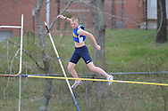Oxford High's Sam Kendricks pole vaults during a track meet at Oxford High School in Oxford, Miss. on Saturday, March 13, 2010.