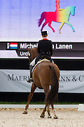 Michelle van Lanen - Urchin B<br /> FEI European Championships Dressage Juniors and Young Riders 2012<br /> © DigiShots