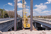 Veteran's Expressway Construction Photography