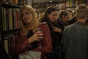 MARISSA MONTGOMERY, ; CHARLOTTE COLBERT, Book launch for 'I Should Have Said' by Daisy de Villeneuve, John Sandoe Books, Blacklands Terrace. Chelsea, London. 10 March 2015.