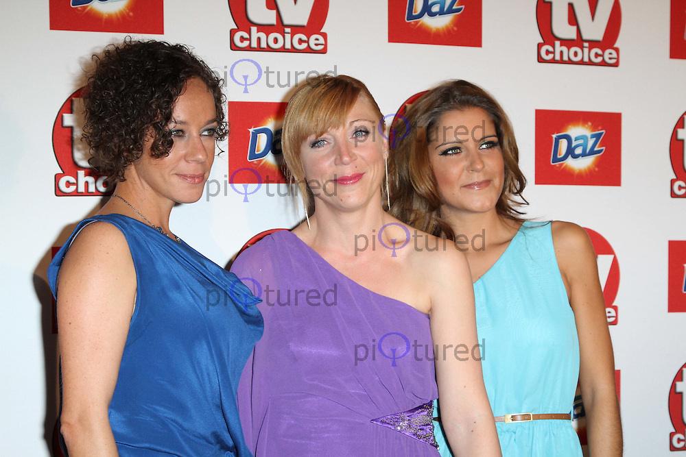 Alicya Eyo; Kelli Hollis; Gemma Oaten TVChoice Awards, Savoy Hotel, London, UK. 13 September 2011 Contact: Rich@Piqtured.com +44(0)7941 079620 (Picture by Richard Goldschmidt)