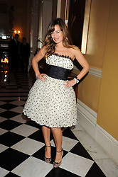 JADE JAGGER at a party to celebrate the 10th Anniversary of Claridge's Bar, Claridge's Hotel, Brook Street, London on 11th November 2008.