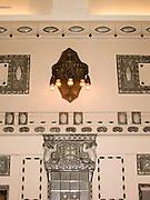 Bad Nauheim, Jugendstil Anlage Sprudelhof, Innenraum eines Badehauses, Detail