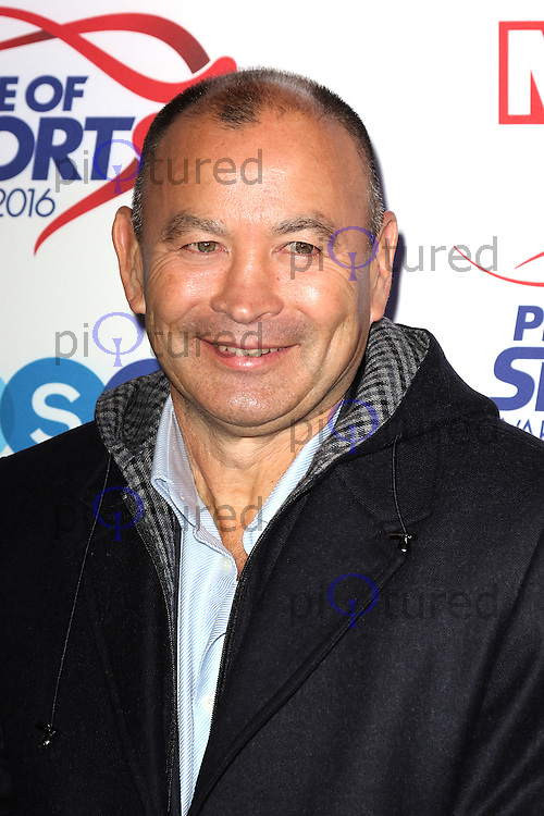 Eddie Jones, Pride of Sport Awards, Grosvenor House Hotel, London UK, 07 December 2016, Photo by Richard Goldschmidt