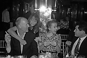 Simon Oakes, Lady Ruth Rogers and Cynnie Rainey,  Charles Finch and Chanel 7th Anniversary Pre-Bafta party to celebratew A Great Year of Film and Fashiont at Annabel's. Berkeley Sq. London W1. 10 February 2007. -DO NOT ARCHIVE-© Copyright Photograph by Dafydd Jones. 248 Clapham Rd. London SW9 0PZ. Tel 0207 820 0771. www.dafjones.com.