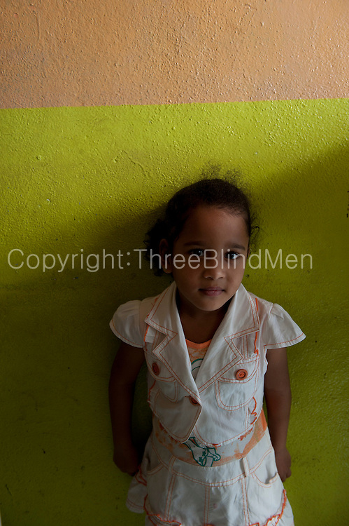 Mauritius. Nora hangs out at her family run cafe in Goodlands.
