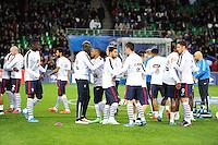 Groupe France - Nabil FEKIR - 29.03.2015 - France / Danemark - Match amical -Saint Etienne-<br /> Photo : Jean Paul Thomas / Icon Sport