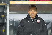 Barnsley Manager Jose Morais during the EFL Sky Bet Championship match between Hull City and Barnsley at the KCOM Stadium, Kingston upon Hull, England on 27 February 2018. Picture by Craig Zadoroznyj.