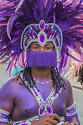 This costume includes matching contact lenses - Crowds flock to see the 50th Notting hill carnival on Bank Holiday Monday.