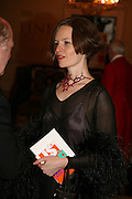 BRIDGET MACDONALD, 240th Royal Academy Summer Exhibition. Annual dinner. Piccadilly. London. 3 June 2008.  *** Local Caption *** -DO NOT ARCHIVE-© Copyright Photograph by Dafydd Jones. 248 Clapham Rd. London SW9 0PZ. Tel 0207 820 0771. www.dafjones.com.