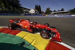 August 31, 2019, Spa-Francorchamps, Belgium: #5 Sebastian Vettel (GER, Scuderia Ferrari Mission Winnow) during FIA Formula One World Championship 2019, Grand Prix of Belgium. (Credit Image: © Hoch Zwei via ZUMA Wire)