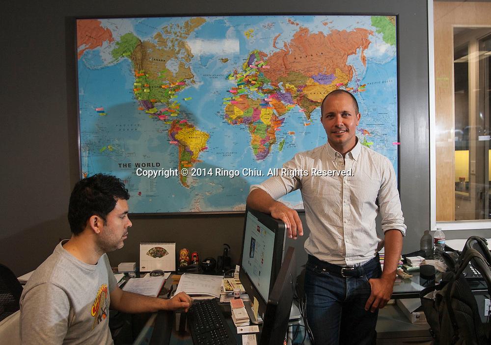 Jason Couvillion, partner/owner of Bruvion Travel.(Photo by Ringo Chiu/PHOTOFORMULA.com)