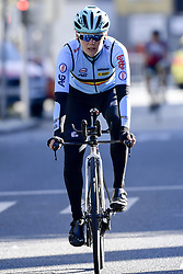 September 16, 2017 - Bergen, Norway - BERGEN, NORWAY - SEPTEMBER 16 : Ann-Sophie Duyck pictured during the reconnaisance of the Team Time Trial 2017 World Road Championship cycling race on September 16, 2017 in Bergen, Norway, 16/09/2017. (Credit Image: © Panoramic via ZUMA Press)