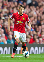 16.08.2014, Old Trafford, Manchester, ENG, Premier League, Manchester United vs Swansea City, 1. Runde, im Bild Manchester United's Adnan Januzaj in action against Swansea City // 15054000 during the English Premier League 1st round match between Manchester United and Swansea City AFC at Old Trafford in Manchester, Great Britain on 2014/08/16. EXPA Pictures &copy; 2014, PhotoCredit: EXPA/ Propagandaphoto/ David Rawcliffe<br /> <br /> *****ATTENTION - OUT of ENG, GBR*****