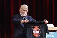 Washington: Buzz Aldrin speaks at the Humans 2 Mars Summit - 9 May 2017