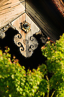Japan Kyoto Tenryuji Temple architectural detail close-up