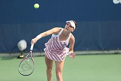 August 27, 2018 - New York, New York, United States - Agnieszka Radwanska of Poland in action during the first round of the 2018 US Open Grand Slam tennis tournament, New York, USA, August 27th 2018. (Credit Image: © Foto Olimpik/NurPhoto/ZUMA Press)