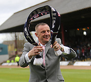 Robert Douglas  says goodbye - Dundee v Kilmarnock -  Clydesdale Bank Scottish Premier League <br />  <br /> &copy; David Young - www.davidyoungphoto.co.uk - email: davidyoungphoto@gmail.com