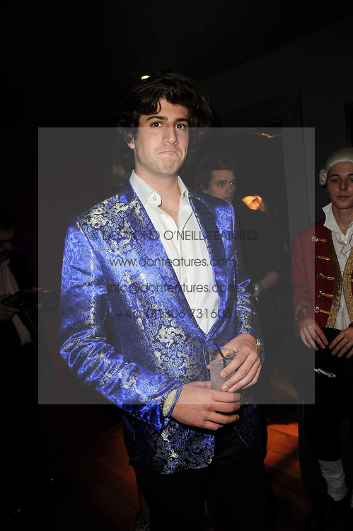 GEORGE KEELAN at the Tatler Little Black Book Party held at Chinawhite, 4 Winsley Street, London on 20th November 2009.