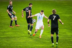Roman Bezjak of Slovenia during friendly football match between National teams of Slovenia and Belarus, on March 27, 2018 in SRC Stozice, Ljubljana, Slovenia. Photo by Vid Ponikvar / Sportida