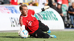 14.07.2011, Ernst-Abbe-Sportfeld, Jena, GER, Benefizspiel, Carl Zeis Jena vs FC Bayern im Bild ..Torwart Manuel Neuer (Bayern München) im Training vor dem Spiel  ..  //during the freindlc match between Carl Zeis Jena - FC Bayern 2011/07/14   EXPA Pictures © 2011, PhotoCredit: EXPA/ nph/  Hessland       ****** out of GER / CRO  / BEL ******