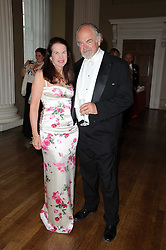PRINCESS SANDRA OURUSOFF and RONALD LEE FLEMING at the 13th annual Russian Summer Ball held at the Banqueting House, Whitehall, London on 14th June 2008.<br /><br />NON EXCLUSIVE - WORLD RIGHTS