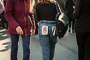 D&eacute;fil&eacute; contre la loi du travail - Place de R&eacute;publique. En mars 2016 les syndacats et les &eacute;tudiants minifeste contre la loi du Travail propos&eacute; par la ministre El Khomri<br /> <br /> Manifestazione contro la legge del lavoro in Francia. Nel marzo del 2016 i sindacati e le associazioni studentesche hanno manifestato pi&ugrave; volte contro la proposta di legge del ministro del lavoro El Khormi, sostenendo che la legge presentata azzera i diritti dei lavoratori transalpini.