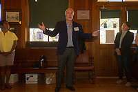 """The Hyde Park Historical Society in conjunction with the Hyde Park Chamber of Commerce held an open house Sunday, October 8th, 2017 to promote the push to win a grant for $75,000.00 from American Express and the National Trust for Historic Preservation to preserve the cable car building located at 5529 S. Lake Park Ave. where the Hyde Park Historical Society is housed. <br /> <br /> 0939, 0972 – Executive Director for Preservation Chicago, Ward Miller speaks with people about the cable car.<br /> <br /> Please 'Like' """"Spencer Bibbs Photography"""" on Facebook.<br /> <br /> Please leave a review for Spencer Bibbs Photography on Yelp.<br /> <br /> All rights to this photo are owned by Spencer Bibbs of Spencer Bibbs Photography and may only be used in any way shape or form, whole or in part with written permission by the owner of the photo, Spencer Bibbs.<br /> <br /> For all of your photography needs, please contact Spencer Bibbs at 773-895-4744. I can also be reached in the following ways:<br /> <br /> Website – www.spbdigitalconcepts.photoshelter.com<br /> <br /> Text - Text """"Spencer Bibbs"""" to 72727<br /> <br /> Email – spencerbibbsphotography@yahoo.com"""