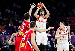 Aleksei Shved of Russia during basketball match between National Teams of Russia and Serbia at Day 16 in Semifinal of the FIBA EuroBasket 2017 at Sinan Erdem Dome in Istanbul, Turkey on September 15, 2017. Photo by Vid Ponikvar / Sportida