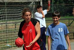 Branka Mijatovic trenerka na otroski rokometni akademiji Urosa Zormana v Dolenjskih toplicah, 27. junija 2008, Dolenjske toplice, Slovenija. (Photo by Vid Ponikvar / Sportal Images)