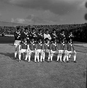 Minor Football Final, Galway v Kerry. Galway Team..27.09.1970..Rescan?