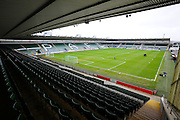 Plymouth Argyle FC's Home Park stadium before the Sky Bet League 2 match between Plymouth Argyle and Cambridge United at Home Park, Plymouth, England on 12 December 2015. Photo by Graham Hunt.