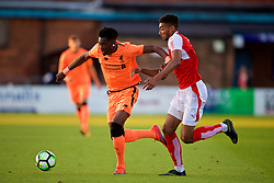 LEYLAND, ENGLAND - Friday, September 1, 2017: Liverpool's Oviemuno Ovie Ejaria during the Lancashire Senior Cup Final match between Fleetwood Town and Liverpool Under-23's at the County Ground. (Pic by Propaganda)