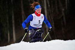 McFADDEN Tatyana, USA at the 2014 IPC Nordic Skiing World Cup Finals - Long Distance