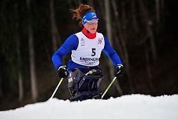 McFADDEN Tatyana, USA at the 2014 IPC Nordic Skiing World Cup Finals - Long Distance