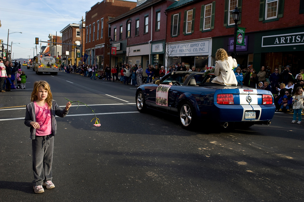Annual Christmas Parade in Waynesburg, Greene County, for Marcellus Shale Project <br /> <br /> <br /> &copy;  Martha Rial 2011