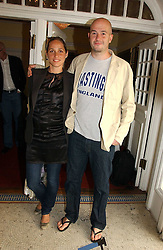 Artist JAKE CHAPMAN and his wife ROSE at the Grand Classics screening of Brighton Rock hosted by Paul Simonon at The Electric Cinema, Portobello Road, London W11 on 5th June 2006.<br /><br />NON EXCLUSIVE - WORLD RIGHTS